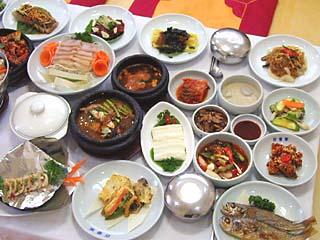 韓定食(百番屋)